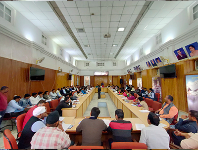nigam board meeting hall